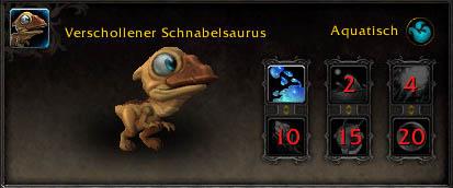 Verschollener Schnabelsaurus